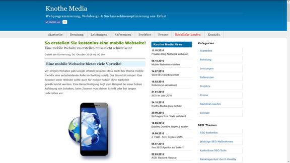 website erstellen kostenlos testsieger